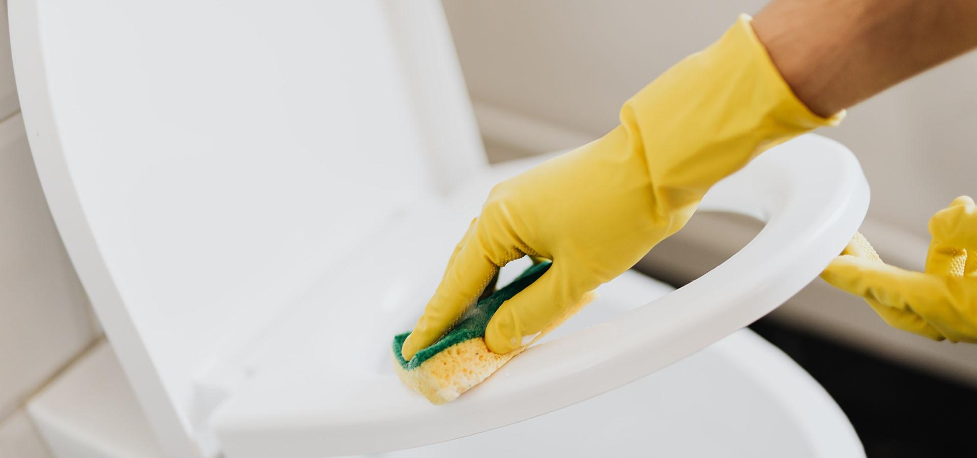 Rengøring toilet