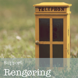 Support rengøring